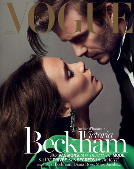 Beckham Vogue Paris 2013 portada