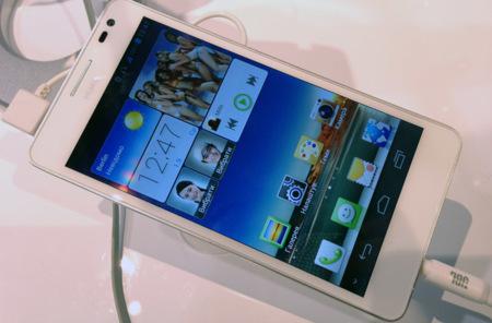 Huawei Ascend D2, toma de contacto