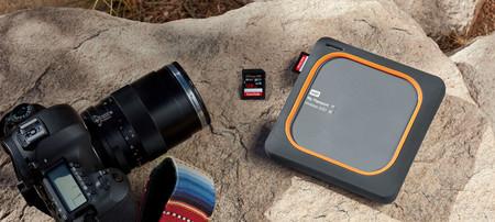 My Passport Wireless SSD, este SSD externo puede hacer copias de seguridad de una tarjeta SD con el simple toque de un botón