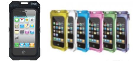 Carcasa acuática para iPhone 4 y 4S de iPega, perfecta para el verano