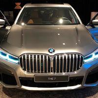 Se filtra el BMW Serie 7 2019 antes de su début y sí, la gigantesca parrilla también estará