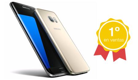 Samsung Galaxy S7 Edge es el teléfono Android más vendido en el mundo