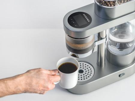 Cafetera Auroma, una perfecta combinación de tecnología y buen gusto