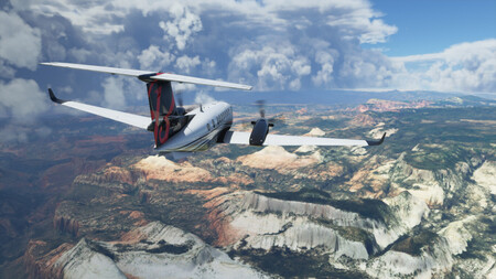 Suelta lastre y vuela con libertad: Microsoft Flight Simulator reduce su tamaño de forma considerable tras su último parche
