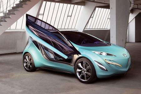 Mazda en el Salón de París