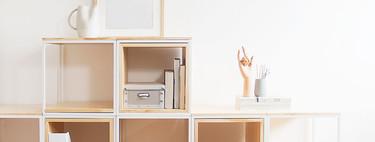 Lo nuevo de Slow Deco es una estantería modular de estética industrial que se adapta al espacio y a las necesidades de cada uno