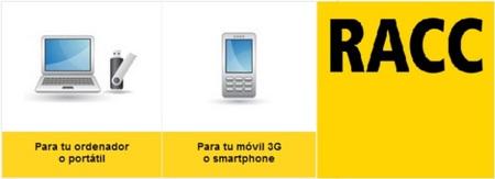 RACC móvil mejora sus tarifas de Internet móvil para smartphone y ordenador