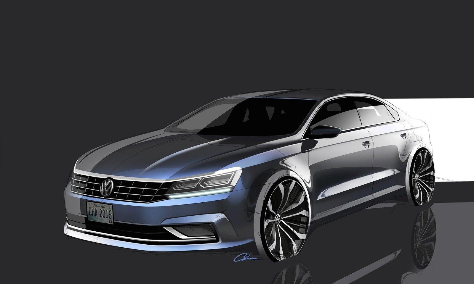 Volkswagen Passat 2016 (30/30) Volkswagen Passat