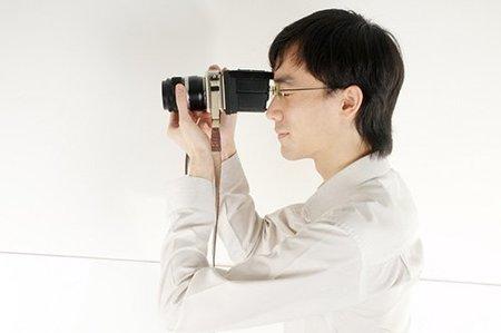 Visor para la pantalla de la cámara, fácil y barato