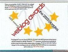 El blog más rico del año, premios Bloggies