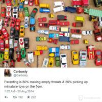 La paternidad y las amenazas
