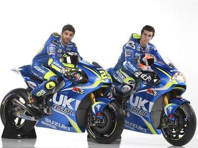 70 fotos y 4 vídeos para conocer al equipo Suzuki ECSTAR, con Andrea Iannone y Álex Rins de azul