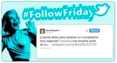 #FollowFriday de Poprosa: de los premios Feroz al cumpleaños de eugenia Silva y tiro porque me toca