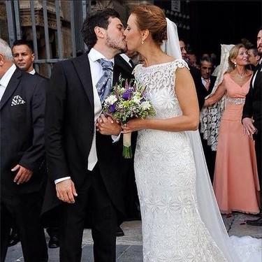 Y David de María... se casó