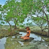 Gisele Bundchen, hasta haciendo yoga estás cañón