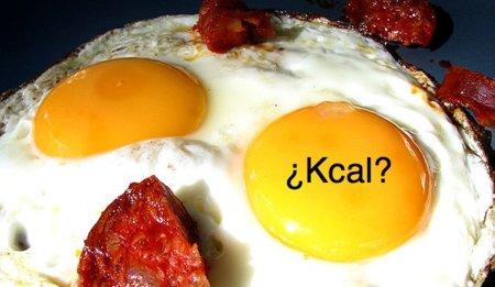 Adivina adivinanza: ¿cuántas calorías tiene un huevo frito?