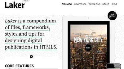 Laker, compendio de herramientas para crear publicaciones en HTML5
