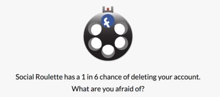 Social Roulette: ¿tienes miedo de perder tu cuenta de Facebook?