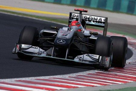 GP de Hungría de Fórmula 1: Michael Schumacher sancionado con diez posiciones para el GP de Bélgica