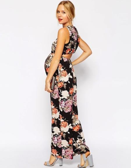 cc3f58dff La moda de fiesta premamá que viene para la primavera 2015