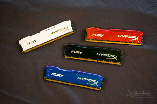HyperX Fury, las nuevas memorias RAM de Kingston