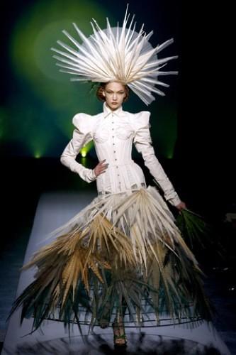 Jean Paul Gaultier Alta Costura Primavera-Verano 2010: arte y moda juntos
