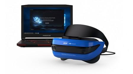 Tenemos nuevos datos de las Acer Mixed Reality : la realidad virtual continúa su crecimiento con la llegada de Creators Update