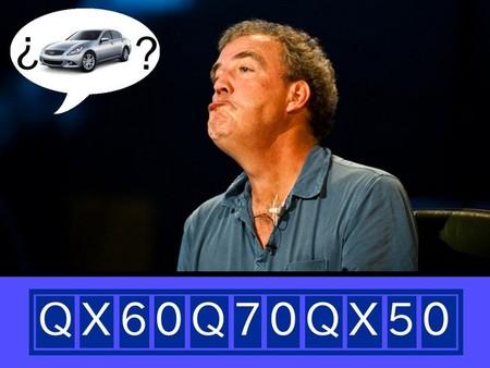 Infiniti juega a cifras y letras: así será su gama en 2013