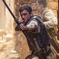 Taron Egerton es Robin Hood en las primeras imágenes del nuevo reboot del legendario arquero