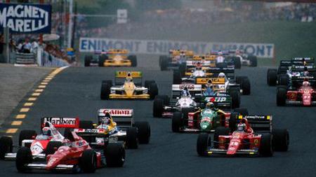 Salida Hungaroring 1989
