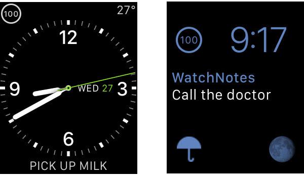 WatchNotes, la mejor manera de tomar notas en tu Apple Watch