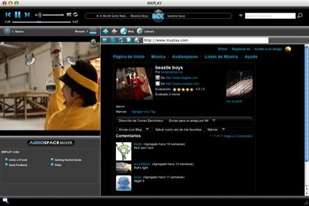 MXPlay, descubre música en tu navegación web y crea tu lista de reproducción