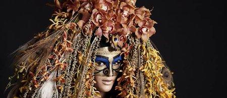 Fantasía en el desfile de Illamasqua con el make up artist Andrea Helgadottir
