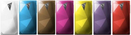 HTC Diamond en 7 colores