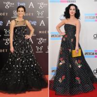 Belén López vs Katy Perry clon Goya 2014