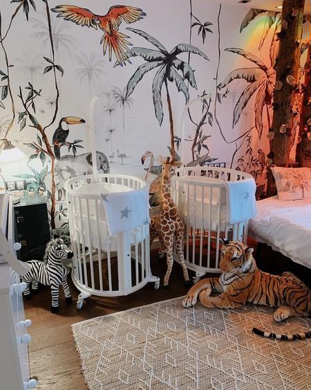 habitación barroca gemelar