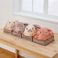 Estas bolsas en forma de conejo están haciendo furor entre las personas más ordenadas