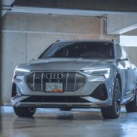 Audi Digital Matrix Light: probamos la tecnología del e-tron Sportback que usa los faros como proyector de imágenes