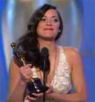 Oscars 2008: ¡Mejor Actriz para Marion Cotillard!