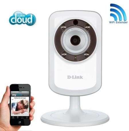 D link dcs 933l una c mara de vigilancia que hace tambi n - Camara de seguridad wifi ...