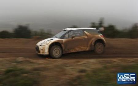 Primera imagen del Citroën DS3 WRC en movimiento