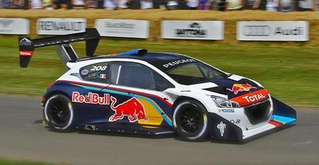 Sébastien Loeb se queda sin récord en el Festival de la Velocidad de Goodwood