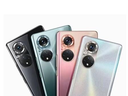 Primera imagen oficial del Honor 50 confirma su diseño extrañamente similar al Huawei P50: llegará el 16 de junio con carga de 100W