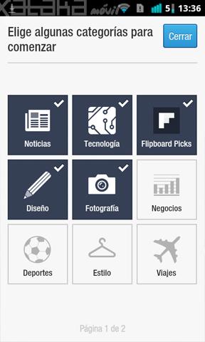 Foto de Flipboard oficial en Android (5/8)