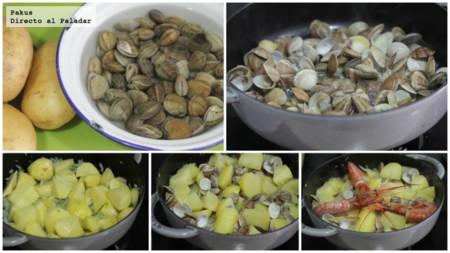 Patatas Con Chirlas