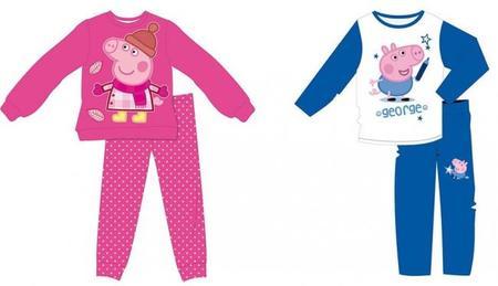 Soñando con chapotear en los charcos: los pijamas de Peppa Pig