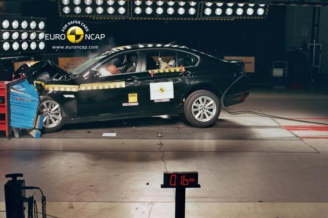EuroNCAP BMW Serie 5