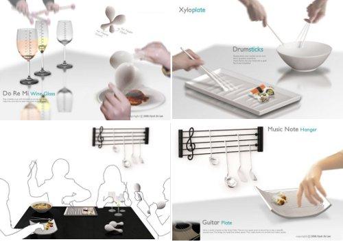 Cocina musical for Instrumentos de cocina