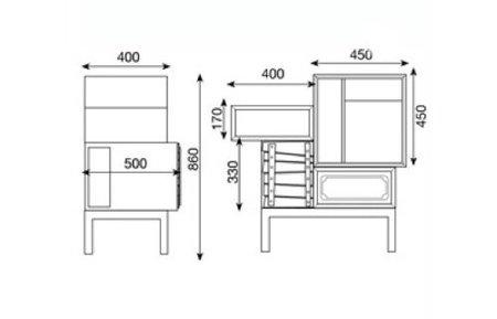mueble estilos medidas