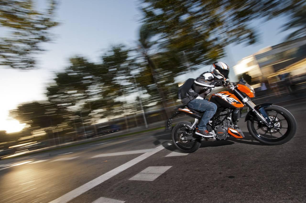 KTM 200 Duke, para los que quieren un poco más